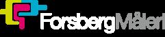 Forsbergs Måleris logotyp